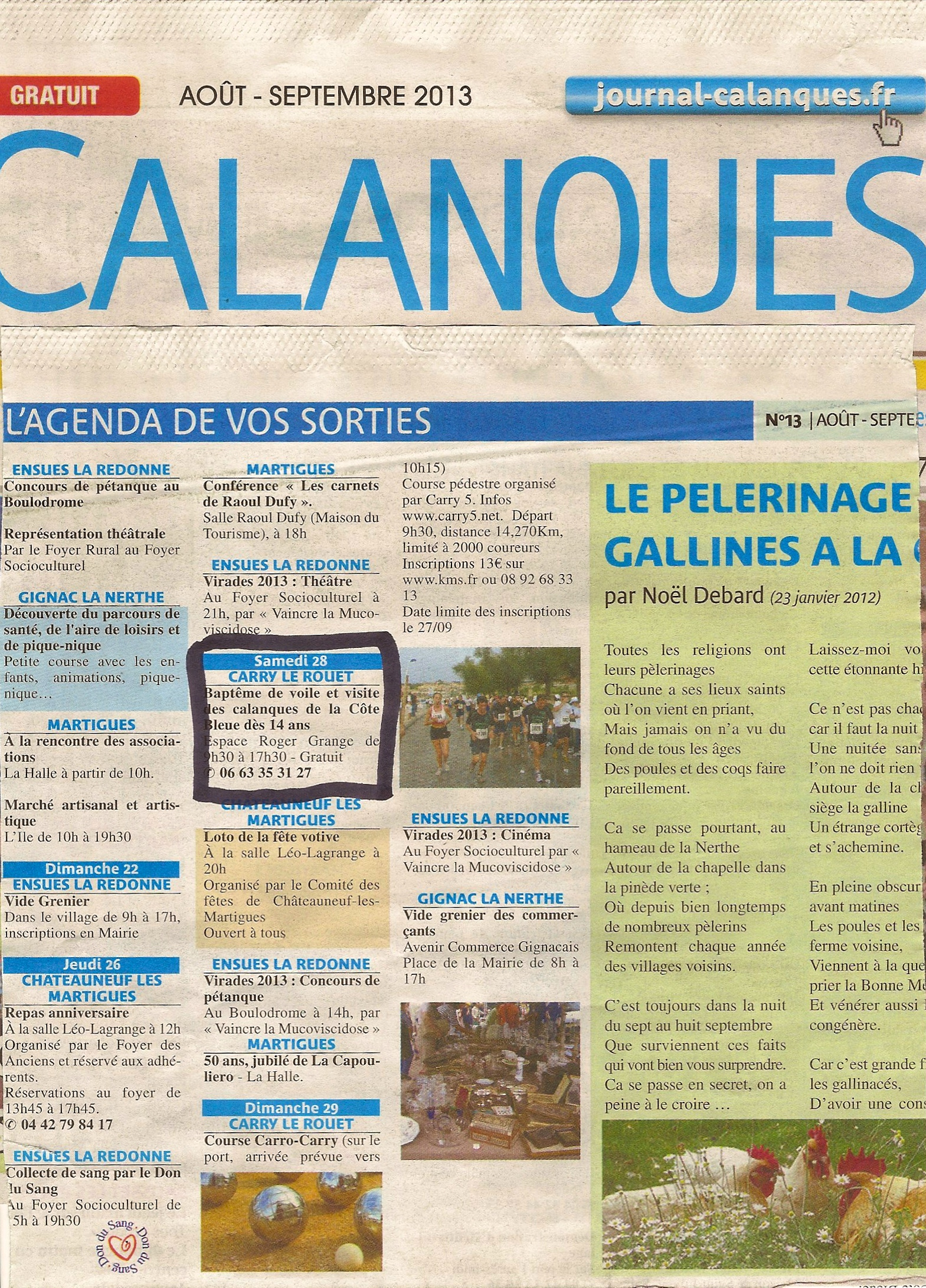 k journal Calanques