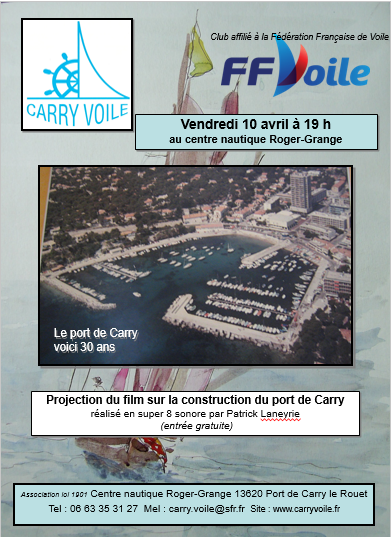 10 avril 2015 film construction port de Carry