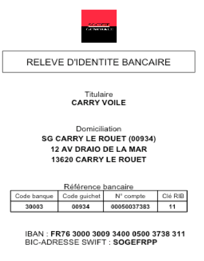 carryvoile RIB SG
